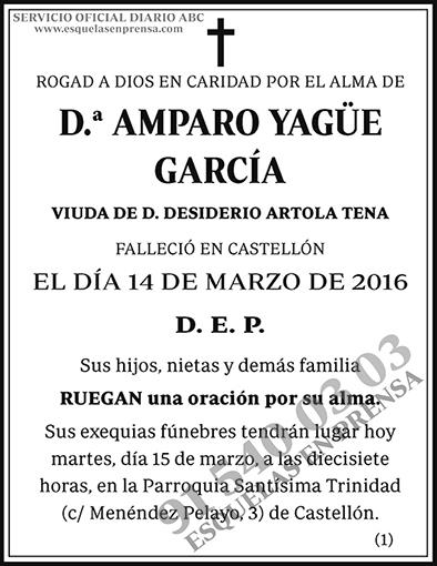 Amparo Yagüe García